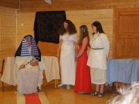 Fotka Faraon Olanses I. povolal egyptské princezny...
