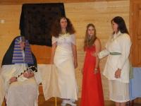Fotka Chtějí to být všechny-Zuzantiti, Elisis i Kačepsut.