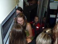 Fotka ...ve vlaku toho dne bylo poněkud plno...
